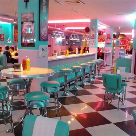 Lost In History on   Diner aesthetic, Retro diner, Vintage
